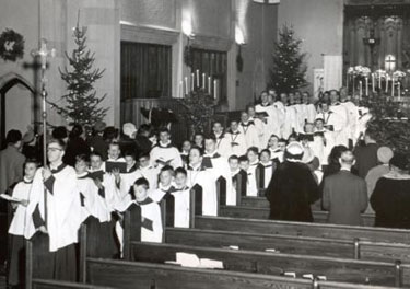 St. Matthew's Choir image of 1959