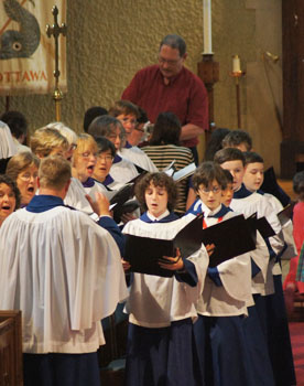 image of St. Matthew's Boys' Choir