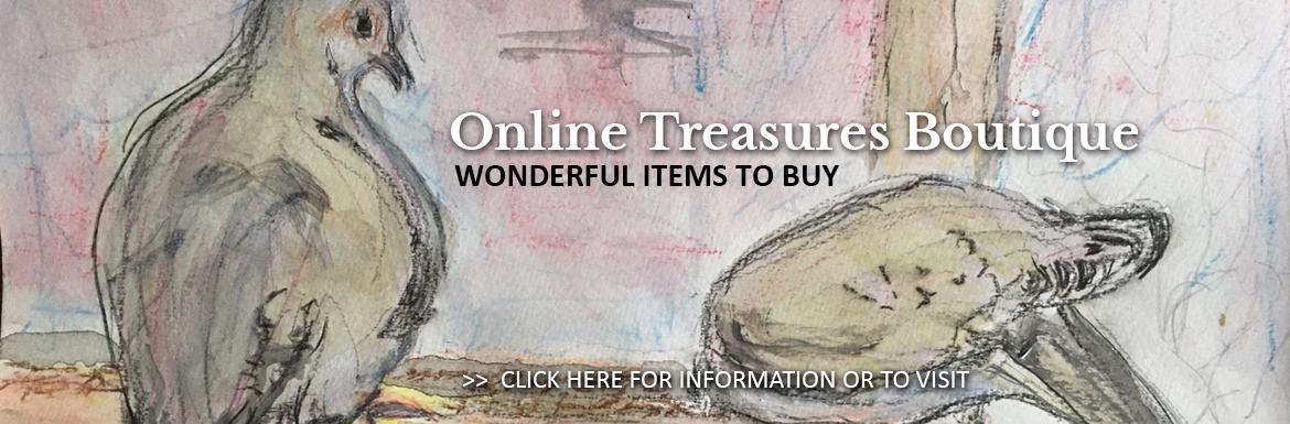 St. Matthew's Online Treasures Boutique: buy unique gifts helping the church and Ottawa Food Bank.