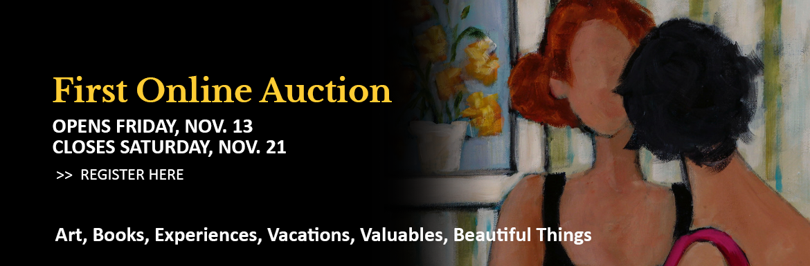 Participate in St. Matthew's online auction!  Register now and view the variety of art, books, experiences, vacations, valuables and beautiful items on the virtual auction block! Bidding opens Friday November 13 and closes Saturday November 21, 2020.