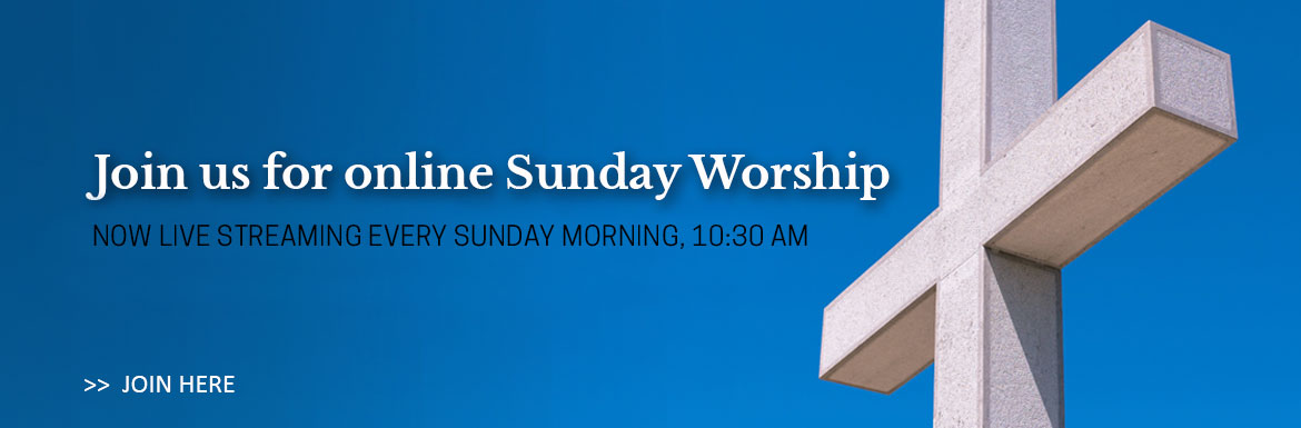 Click here to join St. Matthew's for online live streaming worship every Sunday at 10:30 AM